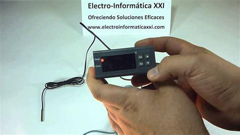 conectar y programar termostato digital programable mh1210a para incubadoras nacedoras
