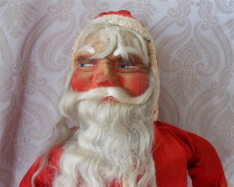 vintage santa claus vintage mask face santa claus from joan lynetteantiquedolls on ruby lane