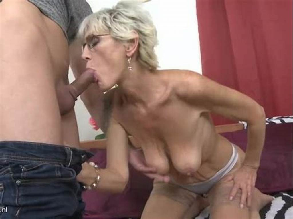 #Horny #Granny #With #Saggy #Tits #Fucked #By #A #Young #Guy