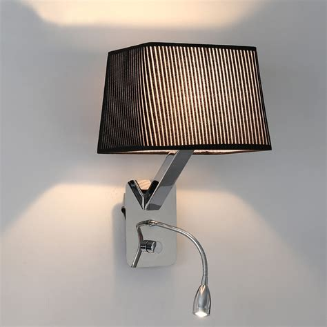 Indoor Flexible Mechanical Arm Wall Lamp Bedside Reading