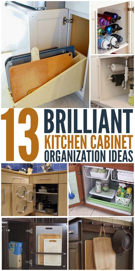 kitchen cabinet organizer ideas document
