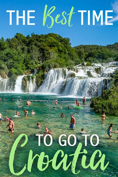 Best Time Travel by The Best Time To Travel To Croatia The Abroad