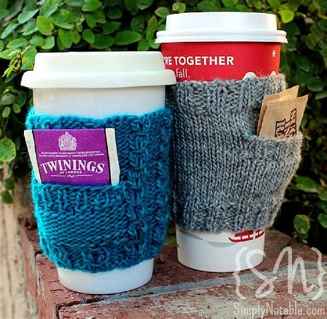So get your hands busy with some crochet work as the winters are soon going to knock at your door. 17 Lovable Mug Cozy DIYs for All with Cold Hands, but Warm Hearts