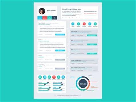 Best Color Palettes For Resume by Resume Flat Design Timeline Resume Styles Design Resume And Creative Resume Design