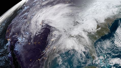 bomb cyclone storm threatens  central  npr