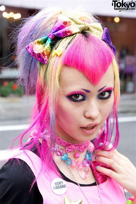 dokidoki vanis kawaii pink hairstyle candy colored