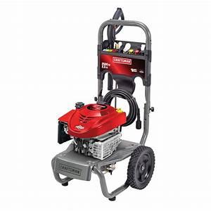 Craftsman 20431 2500 Psi 2 3 Gpm Briggs  U0026 Stratton Powered Pressure Washer
