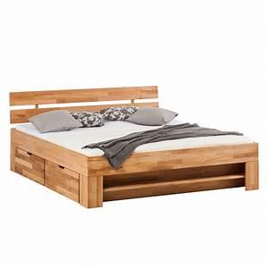 Massivholzbett 140x200 Gebraucht : bettgestell mit aufbewahrung 140x200 wohn design ~ One.caynefoto.club Haus und Dekorationen