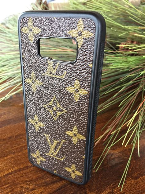 handcrafted samsung  case fashioned  authentic upcycled  repurposed louis vuitton