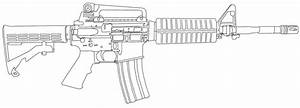 How to draw M4A1