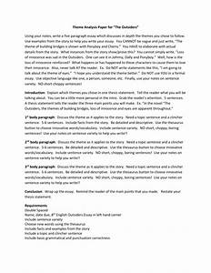 English Essay Examples The Outsiders Essay Social Classification Story Of Alchemist Science Fiction Essays also Essay Science And Religion The Outsider Essay My Unisa Assignment The Outsiders Essay Themes  Thesis Statement For Comparison Essay