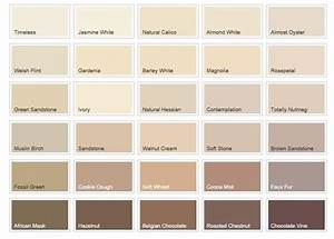 Paint Charts For Kitchens Cream Colour Chart Google Search Hallway Pinterest