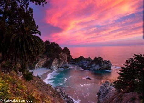 Mcway Falls Big Sur Light Stalking