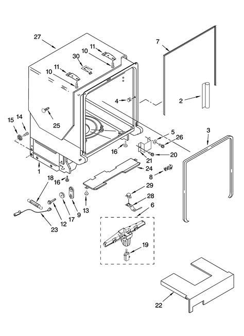 Kitchenaid Parts Ri by Kitchenaid Superba Kitchenaid Superba Parts Dishwasher