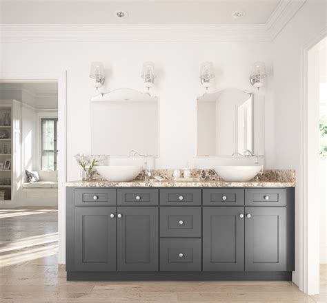 white and gray bathroom ideas grey shaker ready to assemble bathroom vanities