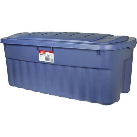 rubbermaid  gallon blue roughneck tote set  piece