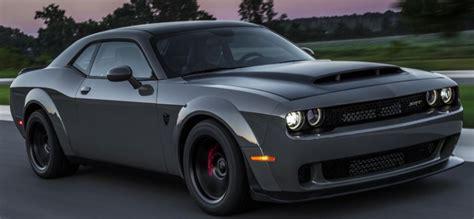 2019 Dodge Challenger Demon Hunter Specs And Price 2019
