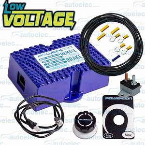 Electric Remote Brake Controller Low Voltage   H  Duty