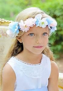Couronne De Fleurs Mariage Petite Fille : couronne de fleurs pour enfant et demoiselles d 39 honneur ~ Dallasstarsshop.com Idées de Décoration