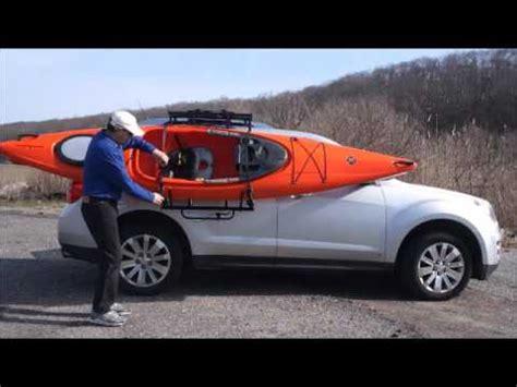 easy load sliding kayak roof rack  warrak