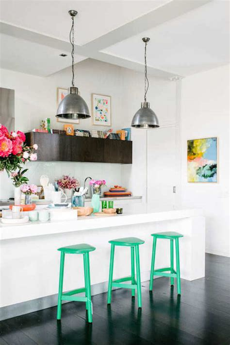 brilliant kitchen bar stools  add   pop