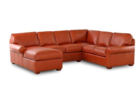 american leather company sofa comfort design journey sectional cl4004 journey sectional