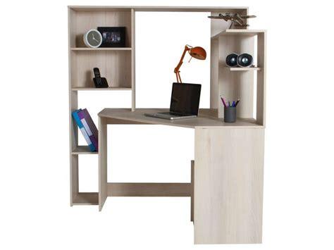 bureau pc conforama bureau d 39 angle groove coloris acacia vente de bureau conforama chambre isac