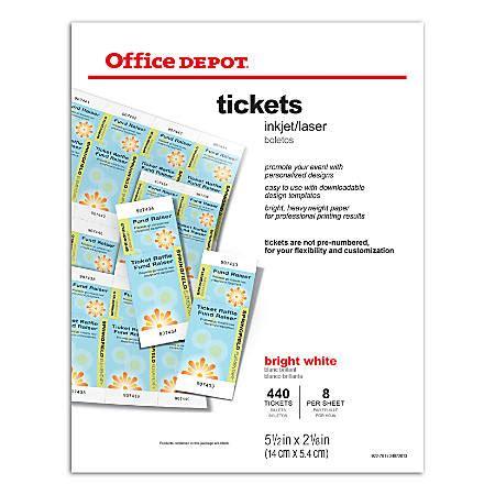 office depot brand inkjetlaser       bright white pack    office depot