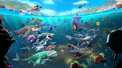 Hungry Shark Ubisoft Gore Mode Eat