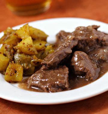 boeuf cuisiné carbonade flamande les meilleures recettes de cuisine d