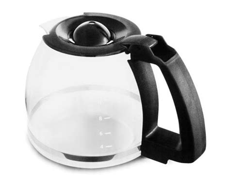 capresso replacement glass carafe  coffeeteam gs  cup cutlery