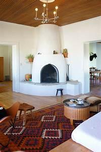 a modern adobe farmhouse home in marfa southwestern home