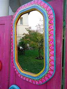 25 Best Ideas About Painted Mirror Frames On Pinterest