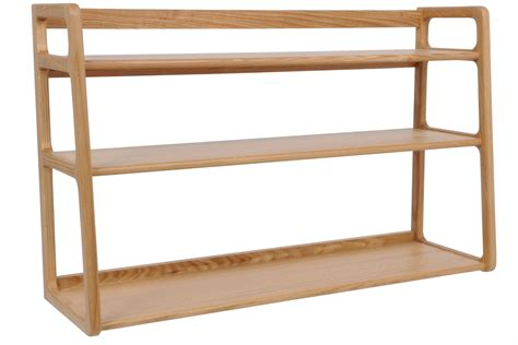 wood shelving 3 tier wood wall shelf