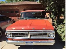 1970 Ford F100 Overview CarGurus