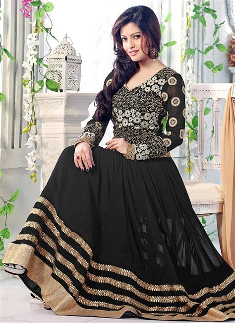 Maxi Style Anarkali Dresses Collection Frock Designs 2018 ...