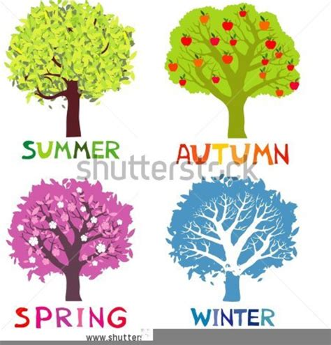 Four Seasons Clipart | Free Images at Clker.com - vector ...