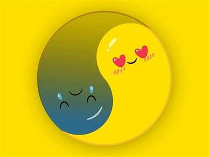 Yang Yin Emoji Ying Emojis Graphic Face