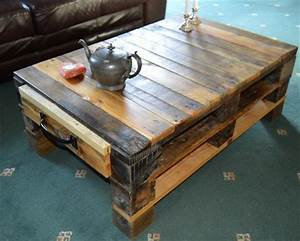 elegant furniture made using wooden pallets pallet idea With coffee table with storage space