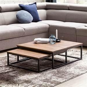Couchtisch Günstig Ebay : couchtisch 2 teilig massivholz wohnzimmertisch sheesham ~ Watch28wear.com Haus und Dekorationen