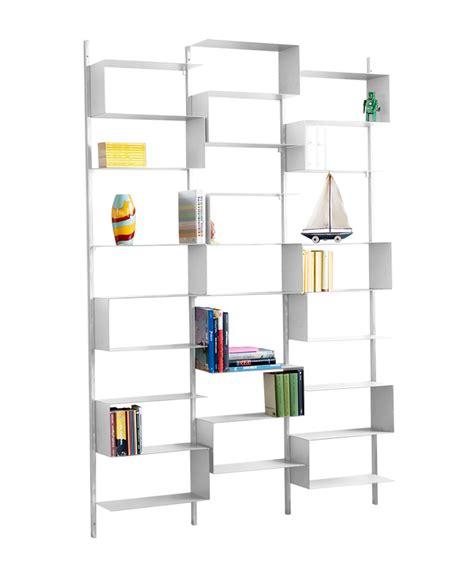 Librerie Da Parete by Kriptonite Libreria Da Parete 25 52 Finitura Bianco Opaco