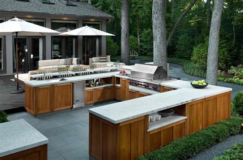 contemporary outdoor kitchen 15 awesome contemporary outdoor kitchen designs home 2540