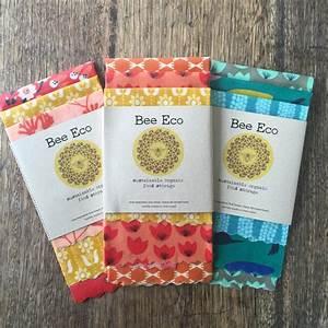 Bee Eco Beeswax Wraps 4pk – Spiral Garden