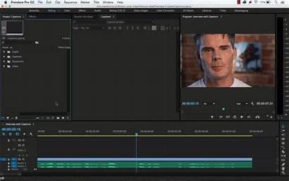 Create Caption Premiere Pro Adobe Captions Step