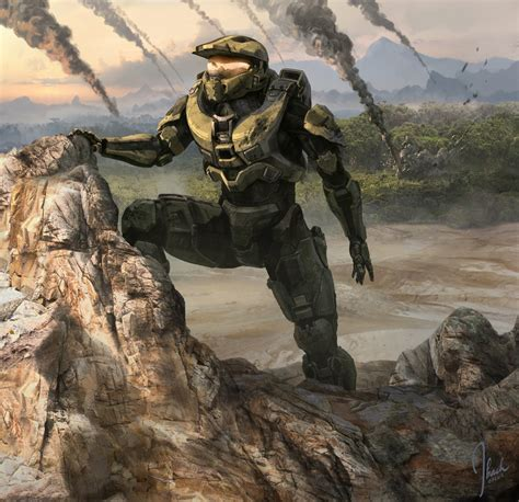 Halo 4 News Halo 4 Commissioning Trailer Concept Art And