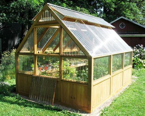 diy greenhouse plans and greenhouse kits lexan polycarbonate cedar framed greenhouse