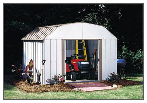 Arrow Galvanized Steel Storage Shed 10x8 by Arrow Dakota Shed Dk108