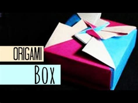 how to make an origami masu box though not this is