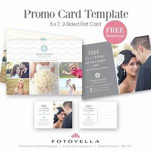 photography marketing template quotgrigioquot studio promo card With wedding photography marketing templates