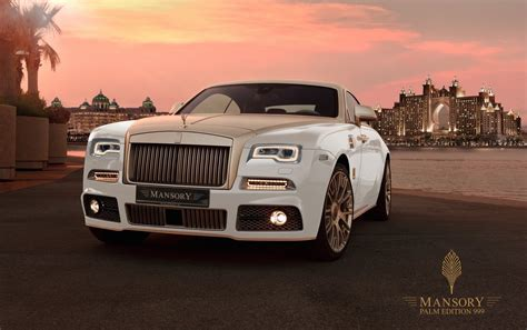 Mansory Palm Edition 999 Rolls Royce Wraith Adds Gold